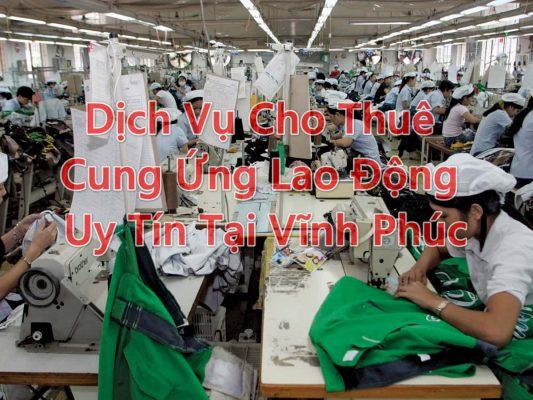 cung ứng lao động tại vĩnh phúc